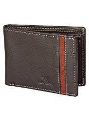 Aditi Wasan Genuine Leather Brown Mens Wallet