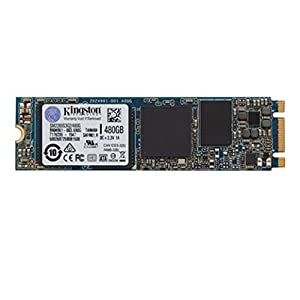 Kingston SM2280S3G2/480G M.2 SATA G2 Solid State Drive, Black/Blue