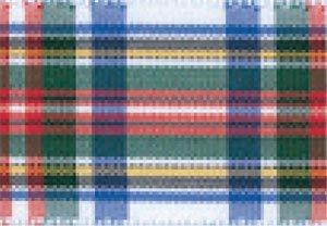 Schleifenband aus Polyester mit Tartan-Muster, 16 mm x 25 m 1 dress stewart -