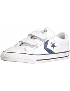 Converse Zapatilla Jr Star Player 2V White-Navy
