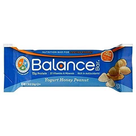 BALANCE BAR BAR,YOGURT HONEY PEANUT, 1.76 OZ by BALANCE Bar