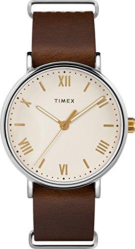 Timex Homme Analogique Classique Quartz Montre avec Bracelet en Cuir TW2R80400