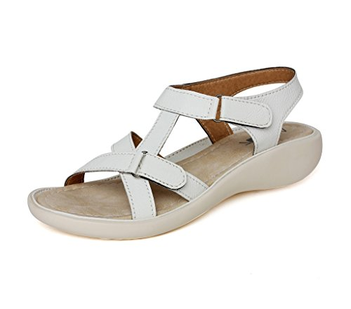 Vendoz Women White Sandals - 39 EU