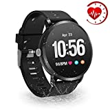 YoYoFit HR Fitness Tracker Watch, 2018 Waterproof Activity Tracker with Heart Rate Blood