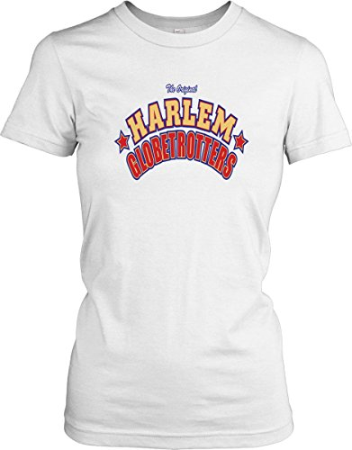 Harlem Globetrotters - Basketball Legends - Ladies T-Shirt - White - Small