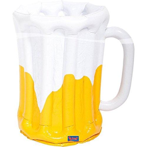 IERKRUG * für Deko bei einer Motto-Party // Dekoration Bier Glass Krug Ballon groß Beer Vatertag Motto Party Kühler Cooler Getränke (Bier-party Dekorationen)