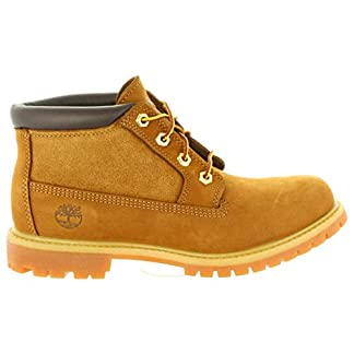 Timberland Women's Nellie Leather and Suede Non-Waterproof Chukka 21
