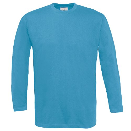 B&C Collection Exact 150 long sleeve Atoll