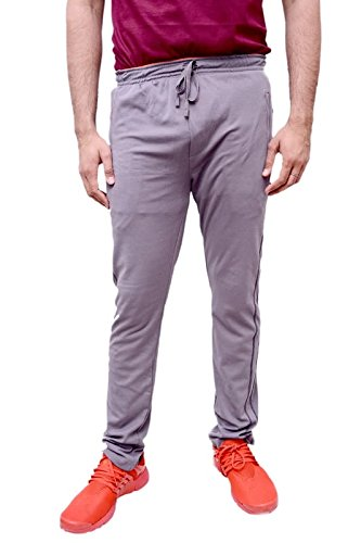 Neva Men's Sweat Free P-Knit Fabric Lower_Track Pant_Zipper Sports Lower_L90-95_Soil  available at amazon for Rs.799