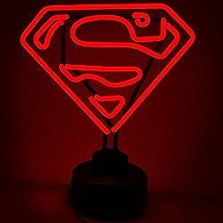 DC Comics Neon Light Superman 23 x 30 cm