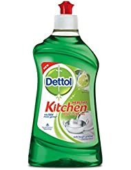 Dettol Healthy Kitchen Dish and Slab Gel, Lime Splash- 200 ml