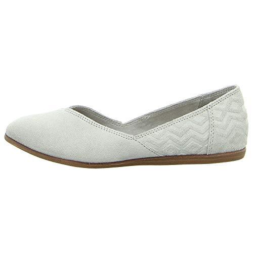 TOMS Damen Women Jutti Drizzle Grey Sneakers, Grau 000, 38 EU - Spitze Toms Damen Schuhe