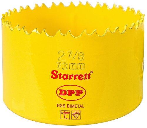 Starrett DH0278 Professionelle Dual Pitch Lochsäge 73 mm 4,3 cm / 20,3 cm (2.7 / 8 Zoll) HSS Bi-Metall