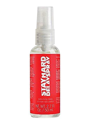 Pharmquests Stay Hard Delay Spray 50 ml, 1er Pack (1 x 50 ml)
