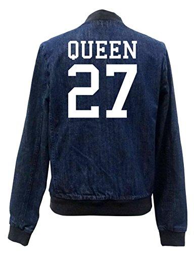 ... ceinture. Queen 27 Bomber Vest Girls Jeans Certified Freak-M 768c732ab12