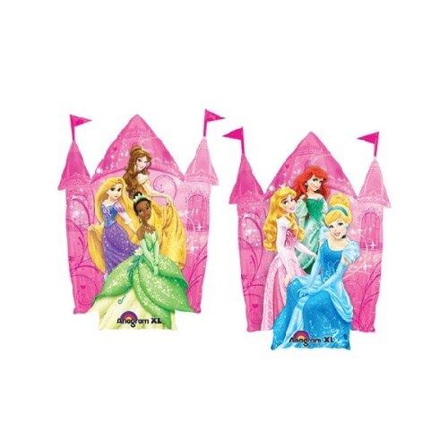 Die 26-Zoll-Prinzessin von Disney Geformter Schlossfolie-Ballon - Zwei Seiten CS138 [Spielzeug]