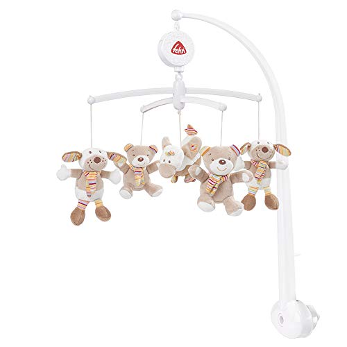 Fehn Mobile musical « Teddy Tom » mobile bébé, Teddy Tom