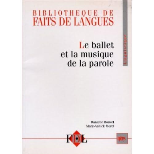 Le ballet et la musique de la parole : le geste et l'intonation dans le dialogue oral en français