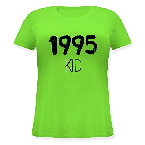 Geburtstag - 1995 KID - Lockeres Damen-Shirt in großen Größen mit Rundhalsausschnitt Hellgrün