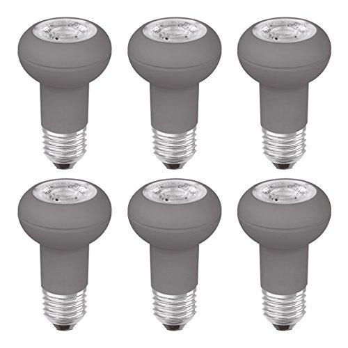 OSRAM LED Star R50 / LED-Reflektorlampe mit E27-Sockel / Nicht Dimmbar / Ersetzt 40 Watt / 36° Ausstrahlungswinkel / Warmweiß - 2700 Kelvin / 6er-Pack
