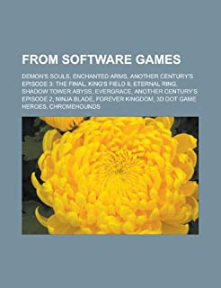 From Software Games: Demon's Souls: Demon's Souls, Enchanted Arms, Another Century's Episode 3: The Final, King's Field II, Eternal Ring, Shadow Tower ... Kingdom, 3D Dot Game Heroes, Chromehounds (1156659213) | Amazon price tracker / tracking, Amazon price history charts, Amazon price watches, Amazon price drop alerts