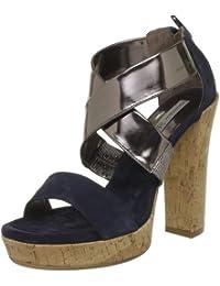 Tosca Blu Shoes - Sandalias de vestir de cuero para mujer