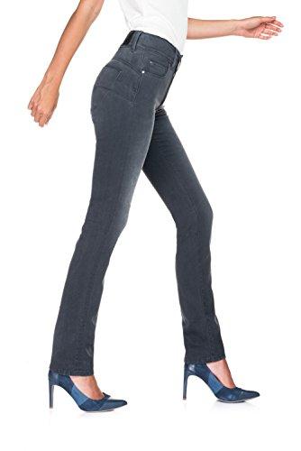 Salsa - Jean taille Haut - Femme Noir