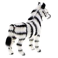 Baoblaze Zebra Animal Figurine Deco Figurine Animal Sculpture Gift Ornament