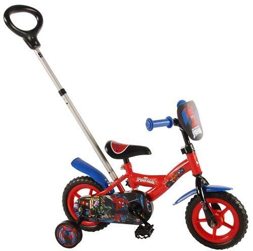 Spiderman volare4105425,4cm Volare Jungen Fahrrad mit Push Bar