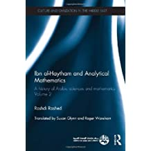 Ibn al-Haytham and Analytical Mathematics: A History of Arabic Sciences and Mathematics Volume 2
