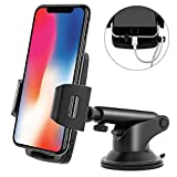 Maibahe Car Phone Mount Universal Smartphone Holder 360 degree rotation Quick-Release Button compatible