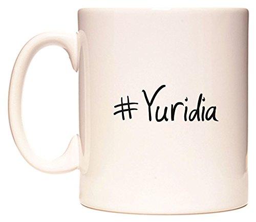 #Yuridia Taza por WeDoMugs