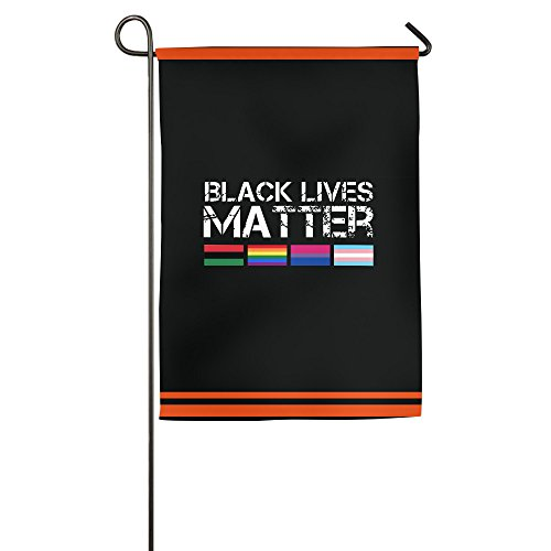 K-fly2personalizzato nero lives matter house bandiera bandiera da giardino due taglie, white