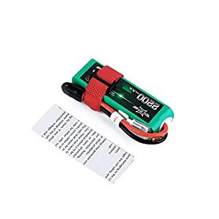 fggfgjg ACEHE 11.1V 2200mAh 75C 3S1P 24.42WH Capacity High Rate Lipo RC Battery