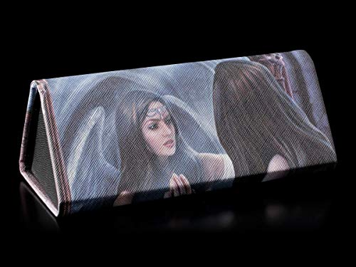 Fantasy Brillenetui mit Engel-Motiv - Magic Mirror | Hartschale, Hardcase, Motiv von Anne Stokes