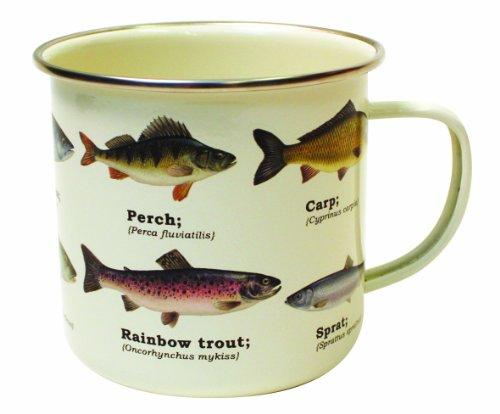 Ecologie Multi Species Fish Kaffeebecher emailliert mit Fisch-Motiven (Fisch Butterfly)