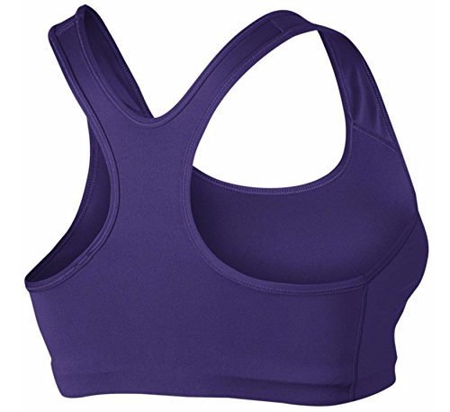 Nike W np Classic Swoosh Damen Bra Sport BH Viollet (Court Purple / White)