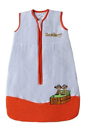 Schlummersack Baby Ganzjahresschlafsack 2.5 Tog 90cm/6-18 Monate - Jan & Henry