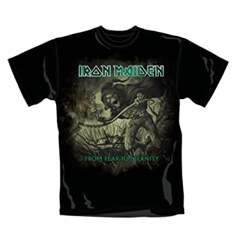 Collector's Mine Iron Maiden - From Fear To Eternety Distressed 7675TSBP Herren T-Shirt, Gr. 48 (S), Schwarz