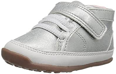 Carter's Every Step Stage 3 Girl's and Boy's Walking Shoe, Eli, Silver, 4.5 M US Toddler