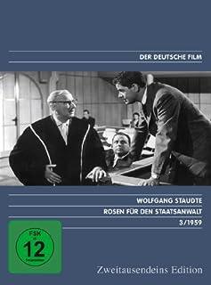 Rosen für den Staatsanwalt - Zweitausendeins Edition Deutscher Film 3/1959