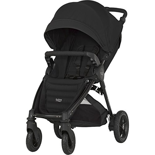 Britax-Romer 2000022964 B-Motion 4 Plus Passeggino 4 Ruote, Cosmos Black
