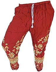 by soljo - Pantalon pantalons de loisirs sportifs pantalon Elephant red