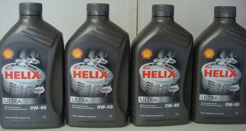 Shell Helix Ultra 0 W-40 Reibung Öl Synthetic für Cars 4 x 1 = 1L