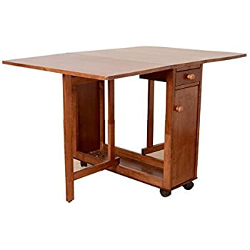 hometown compact four seater dining table walnut