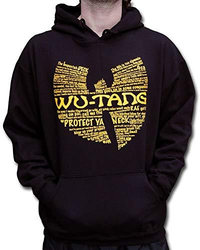 Wu Wear - Wu Tang Clan - Wu Wear Protect Hooded - Wu-Tang Clan Taille M, Couleur Black