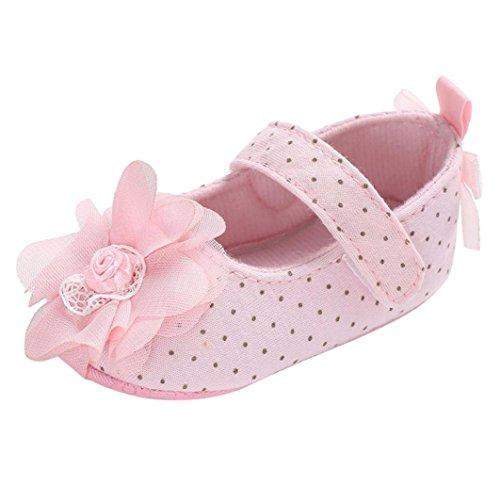 lappa.de, Bebé Niña Zapatos de gateo & Empuje Rosa Impactante ROSA - rosa, Turquesa - fucsia, 21-22