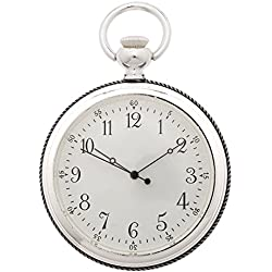 1St. Bulily Men Pocket watch silver AP-OTA-050