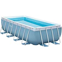 Intex - Piscina desmontable Intex 488x244x107 cm - 10.874 litros - 28318NP