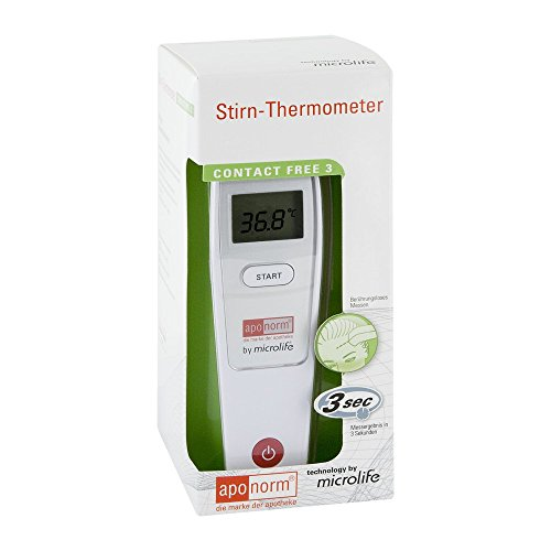 Aponorm Stirn-Thermometer Contact Free 3, 1 St.
